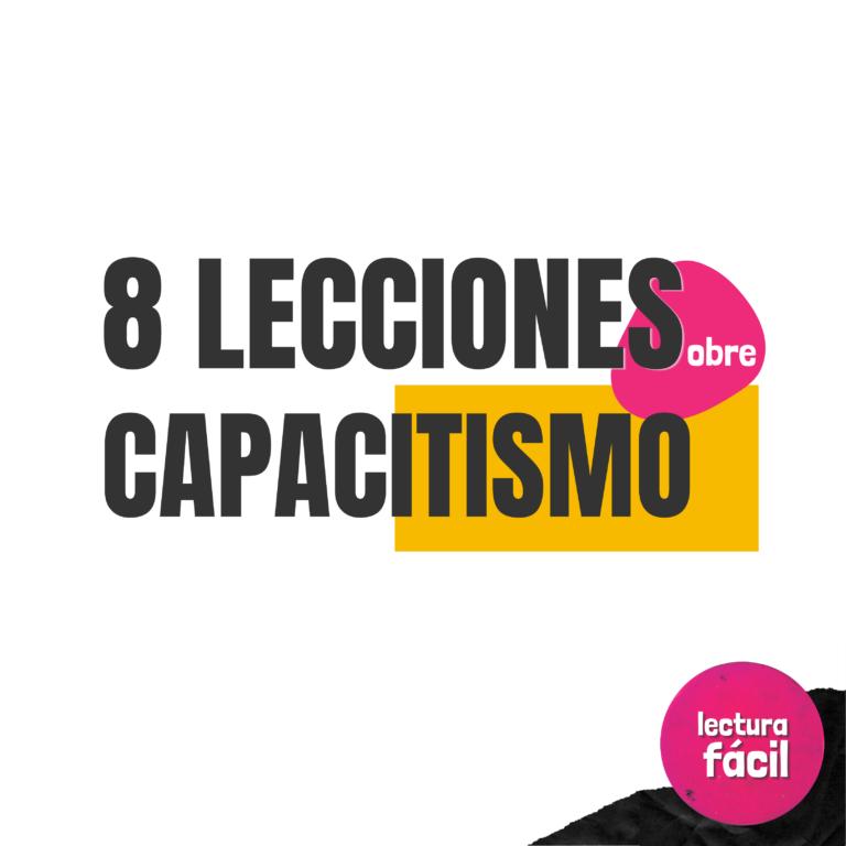 8 lecciones sobre capacitismo que puedes encontrar en Twitter